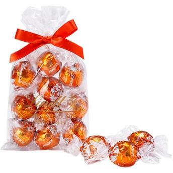 リンツ Lindt チョコレート チョコ スイーツ ギフト リンドール オレンジ 10個入り