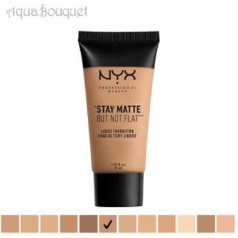 ニックス ステイマット ノットフラット リキッド ファンデーション 35ml タン ( 09 TAN ) NYX STAY MATTE LIQUID FOUNDATION