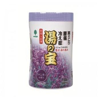 紀陽除虫菊 湯の宝 ラベンダーの香り (丸ボトル) 700g【まとめ買い15個セット】 N-0068
