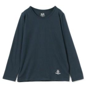 SMOOTHY / バック ロゴ ロングスリーブ Tシャツ (90~140cm) キッズ Tシャツ NAVY 110