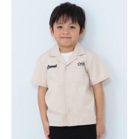 BEAMS mini / ボーリングシャツ(90~150cm) キッズ カジュアルシャツ ECLU 100