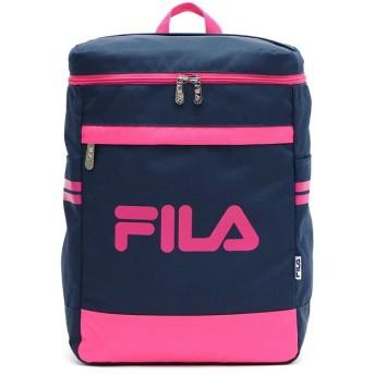 ギャレリア フィラ リュック FILA スターリッシュ B4 7495 ユニセックス ネイビー系2 F 【GALLERIA】