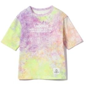 Smoothy / タイダイ ビッグ Tシャツ (90~140cm) キッズ Tシャツ タイダイ L