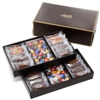 リンツ Lindt チョコレート チョコ スイーツ ギフト 焼き菓子ギフト フィナンシェ20個・リンドール40個