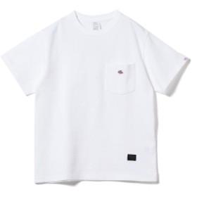 【一部予約】JE MORGAN × BEAMS LIGHTS / 別注 鹿の子 ポケットTシャツ メンズ Tシャツ WHITE L