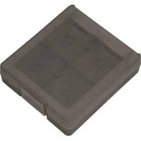 『新品即納』{OPT}3DS・DSソフト用カードケース16 クリアブラック サイバーガジェット(CY-3DSCC17-BK)(20130629)