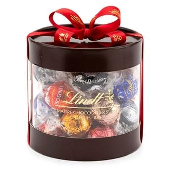 リンツ Lindt チョコレート チョコ スイーツ ギフト お中元 リンドールギフトボックス27個入り/7種