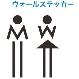 ウォールステッカー 転写式 トイレ ドアシール ドアサイン 扉 お手洗い 御手洗い WC 洗面所 はがせる アイコン 窓 ガラス 壁紙シール 壁シール