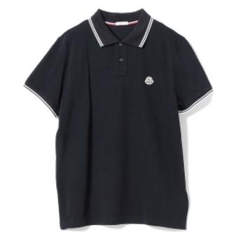 【ショップ限定商品】MONCLER / ライン ポロシャツ メンズ ポロシャツ NAVY/773 XL