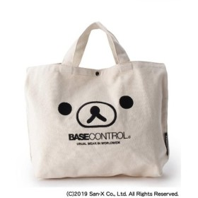BASE CONTROL(Men)(ベースコントロール(メンズ))【WEB限定】 コラボ 別注 Rilakkuma リラックマ フェイス 刺繍 キャンバ