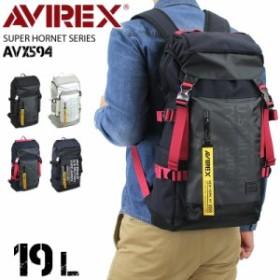 AVIREX アヴィレックス SUPER HORNET リュック 撥水加工 19L AVX-594