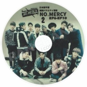 【K-POP DVD】☆★MONSTA X NO. MERCY #2★(EP6-EP10)【日本語字幕あり】