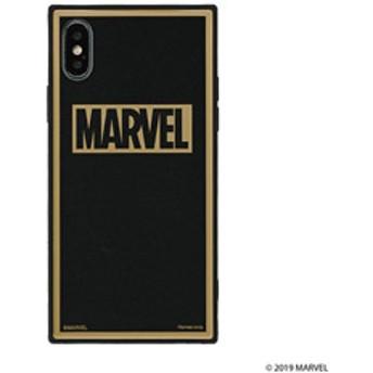 [iPhone XS/X専用]MARVEL/マーベルTILEケース/ロゴ(ブラック/グリッター) 151-905111