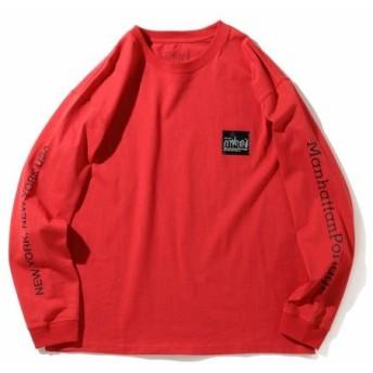 [マルイ]【セール】Manhattan Portage / ロングスリーブ ロゴ Tシャツ/ビーミングライフストア(メンズカジュアル)(Bming lifestore MC)