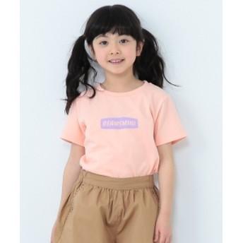 BEAMS mini / ロゴTシャツ (90~150㎝) キッズ Tシャツ PEACH 90