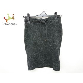 ディーゼル DIESEL スカート サイズXS レディース 黒×白 新着 20190302