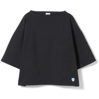 ORCIVAL / ワイドコットンロード 19SS レディース Tシャツ BLACK 1