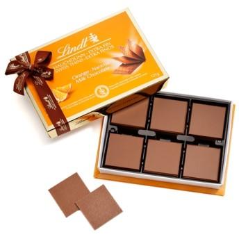 リンツ Lindt チョコレート チョコ スイーツ ギフト スイスシン ミルクオレンジ 125g