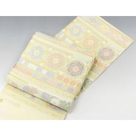 (袋帯)新品仕立付き 正絹 西陣[丸勇謹製]つづれ唐織 袋帯(新品)(未仕立)(仕立て代込み)