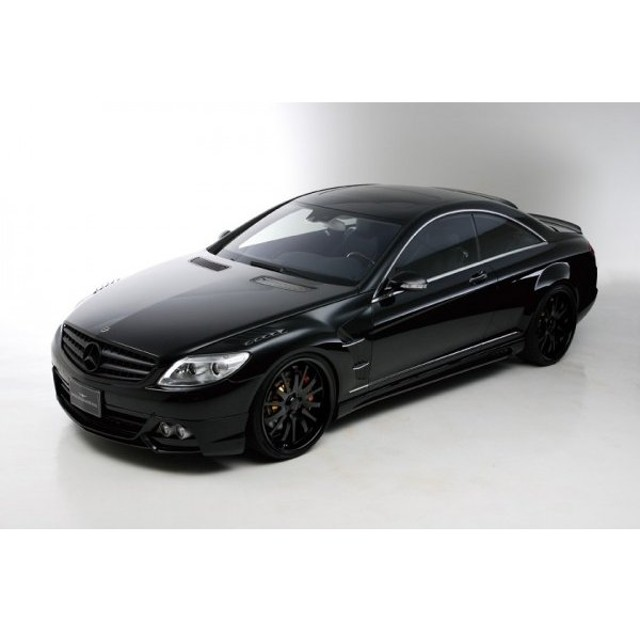 【BENZ CL W216/C216 | ヴァルド】 【C】BENZ CL W216 SPORTS LINE Black Bison Edition LOWERING KIT (〜2010y)