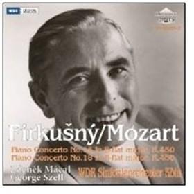 ルドルフ・フィルクスニー Mozart: Piano Concertos No.15, No.18 CD