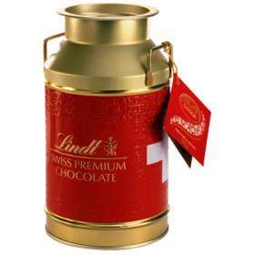 リンツ Lindt チョコレート チョコ スイーツ ギフト リンドール ミルク ミルク缶 300g