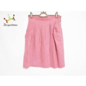 アプワイザーリッシェ Apuweiser-riche スカート サイズ2 M レディース ピンク ラメ   スペシャル特価 20190615【人気】