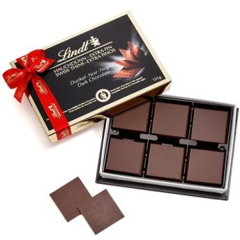 リンツ Lindt チョコレート チョコ スイーツ ギフト スイスシン ダーク 125g
