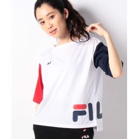フィラ ショートTシャツ レディース ホワイト LL 【FILA】