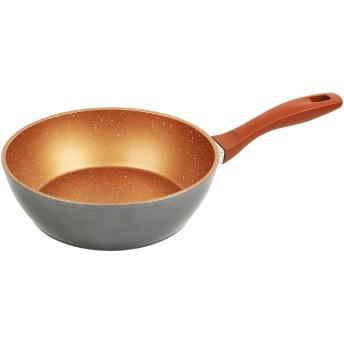 フレーバーストーン 24cm ディープパン ブロンズゴールド