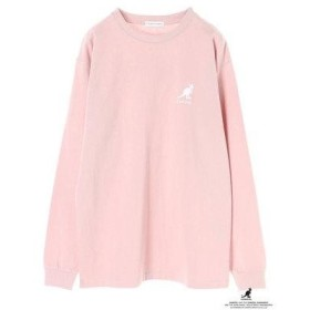 イーハイフンワールドギャラリー E hyphen world gallery Ehwg×KANGOL19SSLONG TEE (Pink)