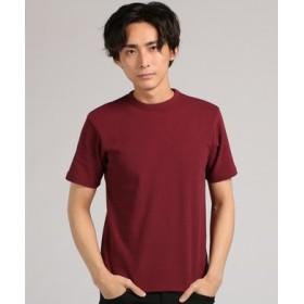 BACK NUMBER クルーネックTシャツ メンズ ワイン