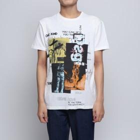 デシグアル Desigual Tシャツショート袖 (ホワイト)
