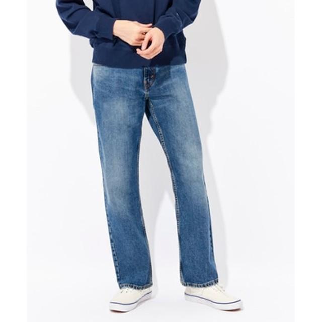 Levi's 「569」ルーズストレートデニムパンツ メンズ 濃加工色
