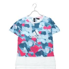 アディダス adidas レディース 半袖Tシャツ W S2S グラフィック半袖ビッグロゴTシャツ DV0713