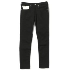 IG × BOBSON / ヘリンボーン スキニーパンツ メンズ デニムパンツ BLACK 31