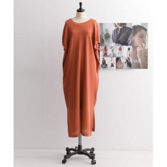 DOORS(ドアーズ) ワンピース ワンピース unfil dry touch cotton knit dress【送料無料】