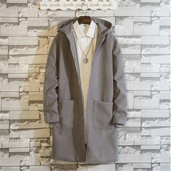韓国ファッション CHIC気質 秋冬 新作 メンズコート ジャケット トップス大きいサイズ♪