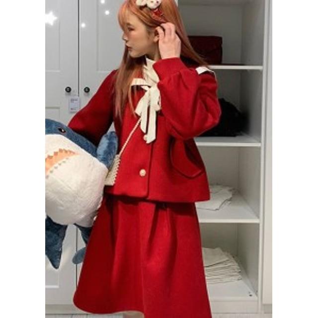 db342a88f7c009 ロリータ 秋冬 セーラーロリータ スカート スカートのみ販売 セーラー服 ボトムス 制服ロリータ 制服 かわいい