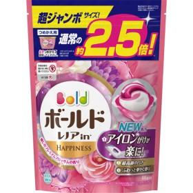 ボールド 洗濯洗剤 ジェルボール3D 癒しのプレミアムブロッサムの香り 詰替超ジャン (44コ入)