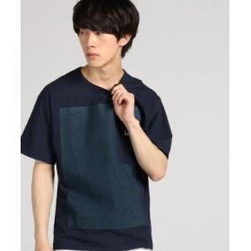 Lee 【WEB限定】ルーズフィットポケットTシャツ メンズ ネイビー