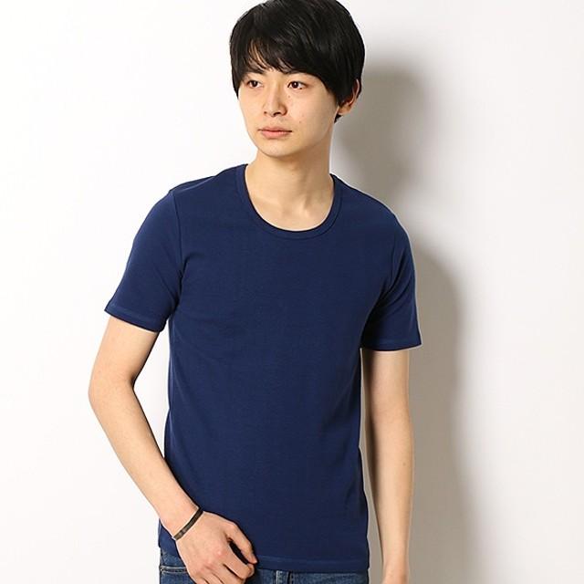 [マルイ]【セール】スパンフライス半袖UネックTシャツ/アドポーション(ADOPOSION)