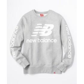New Balance ロゴクルースウエット メンズ グレー
