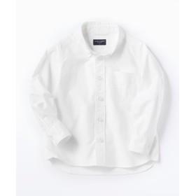 BACK NUMBER オックスボタンダウンシャツ キッズ ホワイト