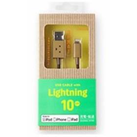 ティ・アール・エイ CHE-219 ダンボー USBケーブル Lightningコネクタ 10cm