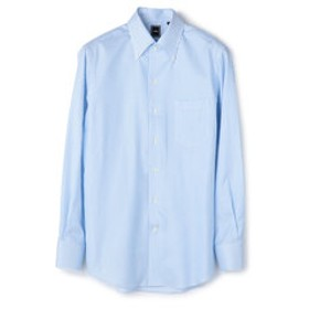 【SHIPS:トップス】SD: 【MONTI社製生地】カラミ イタリアンボタンダウンシャツ(ライトブルー)