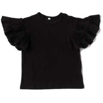 [マルイ]【セール】【WEB限定】ボリュームフリルスリーブ無地Tシャツ/ビールーム(キッズ)(b-ROOM)