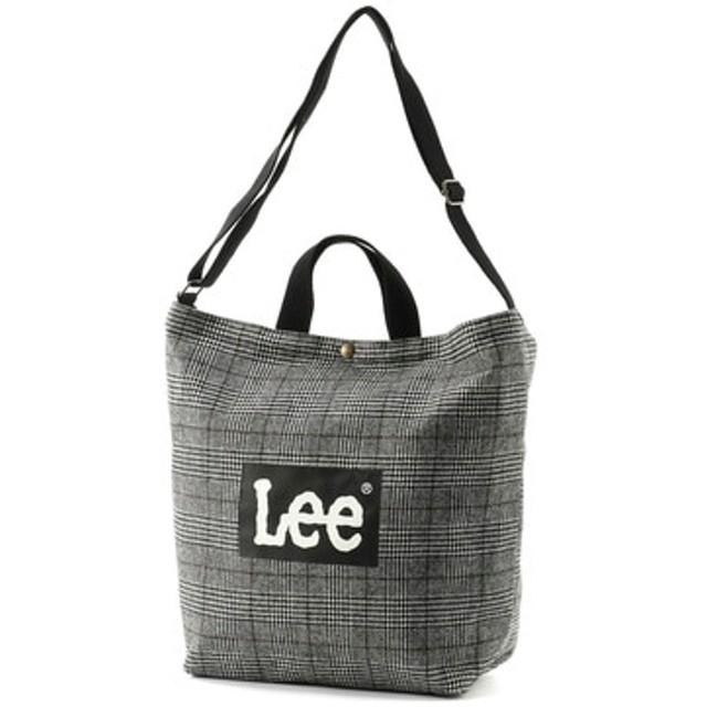 Lee ロゴ2wayショルダートートバッグバッグ チェック