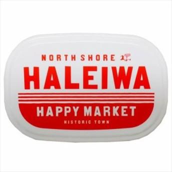 HALEIWA HAPPY MARKET お弁当箱 シール容器3Pセット レッド キャラクター グッズ