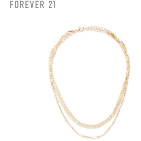 4fb4b34108 FOREVER21 フォーエバー21 【チェーンレイヤードネックレス】(5,000円以上購入で送料無料